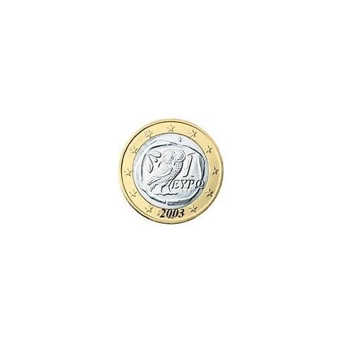Grece 1 EURO  2003 sans lettre