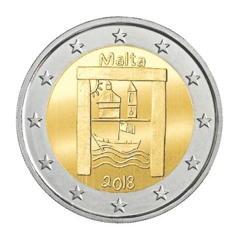 Malte 2018 - 2 euro commémorative Patrimoine Culturel