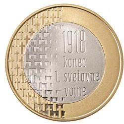 Slovénie 2018- 3 euro - 100 ans