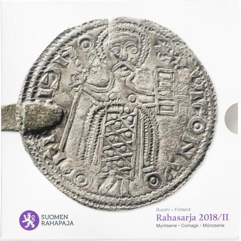 Finlande 2018 - Coffrets euro BU