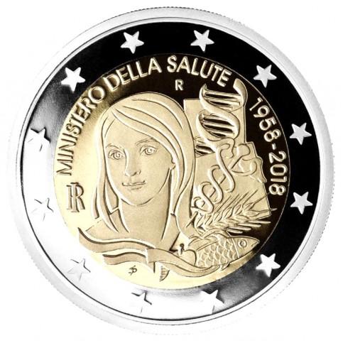 Italie 2018 - 2 euro commémorative Ministère de la Santé
