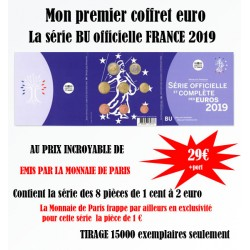 France 2019 - Coffret euro BU de la collection des Coffrets Brillant Universel
