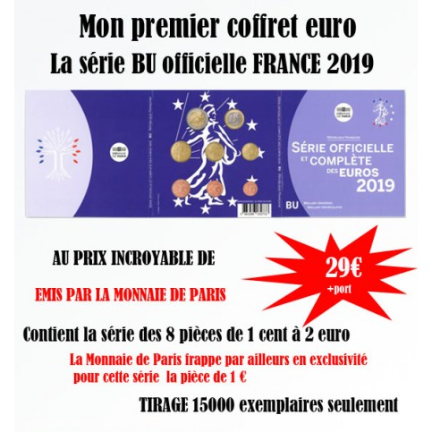 France 2018 - Coffret euro BU de la collection des Coffrets Brillant Universel