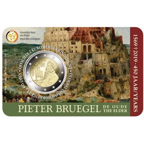 Belgique 2018 Coincard - 2.50 euros Le Mont Piété