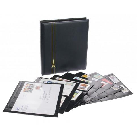 Reliure luxe pour billets ou timbres