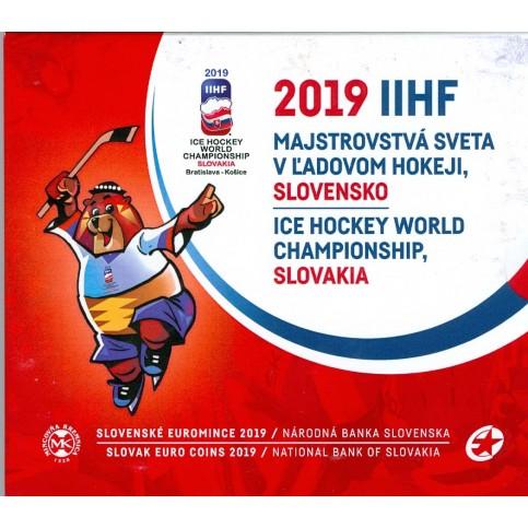 Slovaquie 2019 - Coffrets euro BU