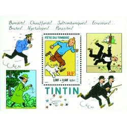 Bloc feuillet France 28 - Tintin