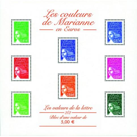 Bloc feuillet France 45