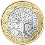 France 1 euro 1999