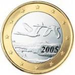Finlande 1 euro 2005