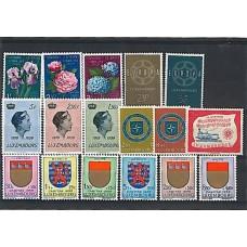 Luxembourg - Année complète 1959
