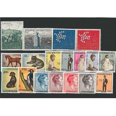 Luxembourg - Année complète 1961