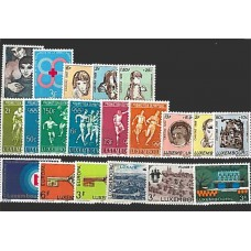 Luxembourg - Année complète 1968