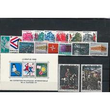 Luxembourg - Année complète 1969