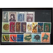 Luxembourg - Année complète 1973