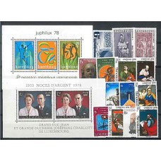Luxembourg - Année complète 1978