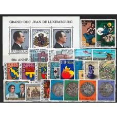 Luxembourg - Année complète 1981