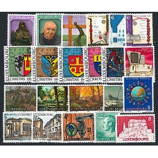 Luxembourg - Année complète 1982