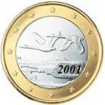 Finlande 1 euro 2001