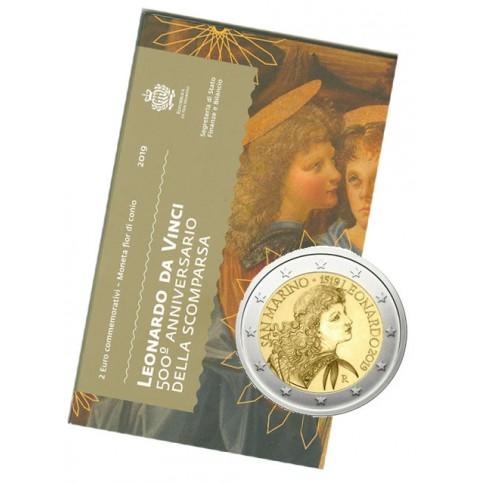 Saint Marin 2019 - 2 euro commémorative Léonard De Vinci