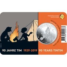 5 euro Belgique 2019 Tintin