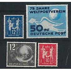 Alemagne de l'Est - Année complète 1949