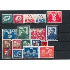 Allemagne de l'Est - Année complète 1951