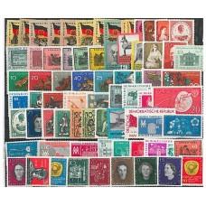 Allemagne de l'Est - Année complète 1959