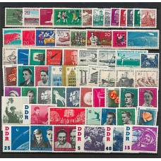 Allemagne de l'Est - Année complète 1961