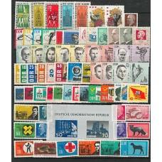 Allemagne de l'Est - Année complète 1963