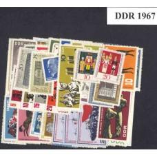 Allemagne de l'Est - Année complète 1967