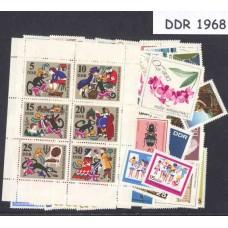 Allemagne de l'Est - Année complète 1968