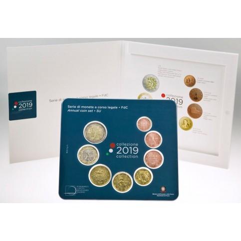 Italie 2019 - Coffrets euro BU