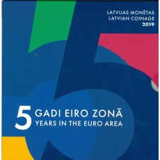Lettonie 2019 - Coffrets euro BU