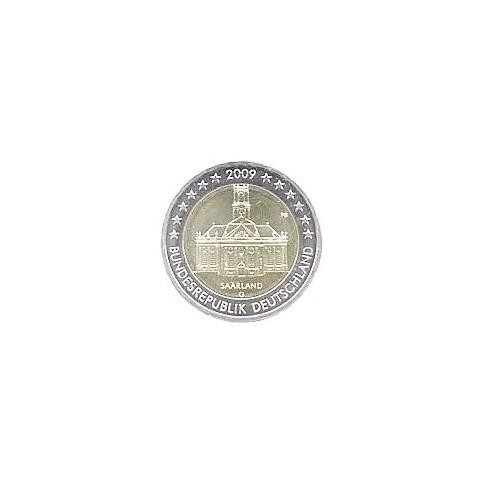 ALLEMAGNE 2009 - 2 EUROS COMMEMORATIVE