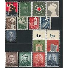 Allemagne RFA - Année complète 1953