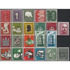 Allemagne RFA - Année complète 1956