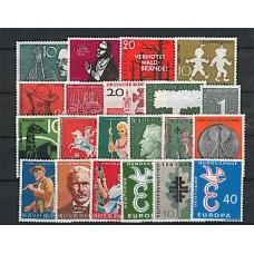 Allemagne RFA - Année complète 1958