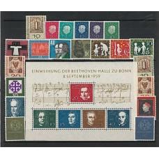 Allemagne RFA - Année complète 1959