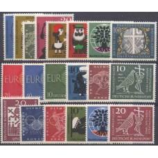 Allemagne RFA - Année complète 1960