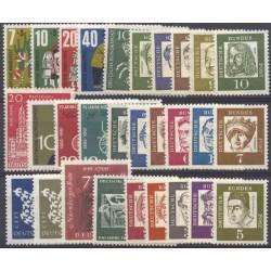 Allemagne RFA - Année complète 1961