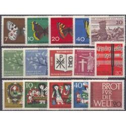Allemagne RFA - Année complète 1962