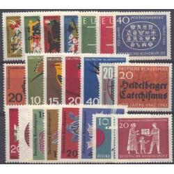 Allemagne RFA - Année complète 1963
