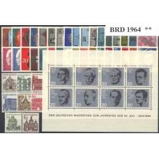 Allemagne RFA - Année complète 1964