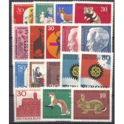 Allemagne RFA - Année complète 1967