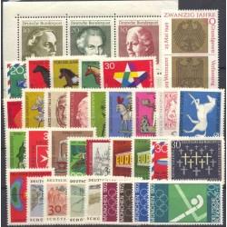Allemagne RFA - Année complète 1969