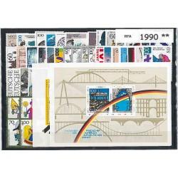 Allemagne RFA - Année complète 1990