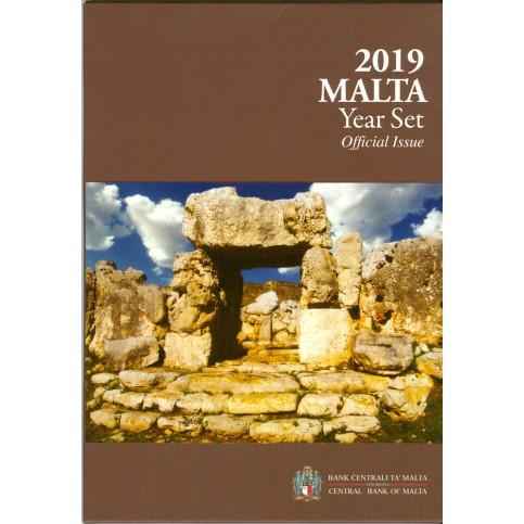 Malte 2019 - Coffrets euro BU