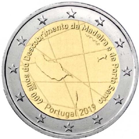 Portugal 2019 - 2 euro commémorative Madère