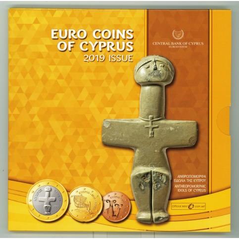 Chypre 2019 - Coffrets euro BU